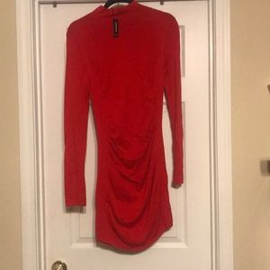 NWT red express sweater dress size m